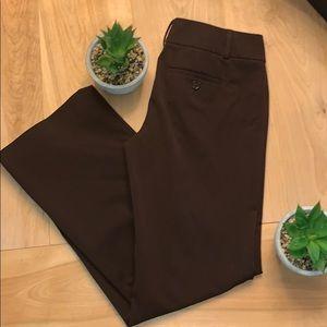 2/$15 Loft Ann Taylor Deep Purple/brown Trousers